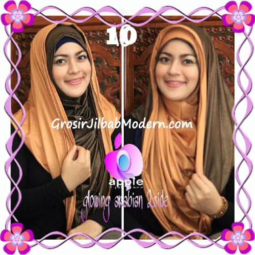 Jilbab Modern Instant Glowing Arabian 2 Side Hoodie by Apple Hijab Brand No 10