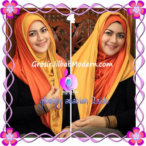 Jilbab Modern Instant Glowing Arabian 2 Side Hoodie by Apple Hijab Brand No 4