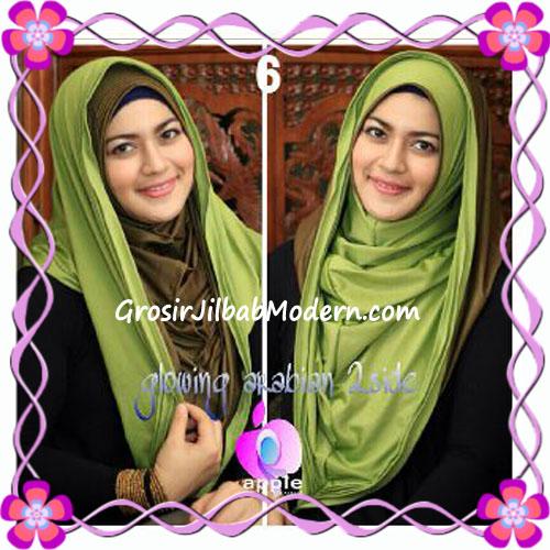 Jilbab Modern Instant Glowing Arabian 2 Side Hoodie by Apple Hijab Brand No 6