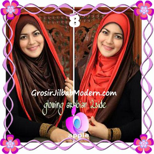 Jilbab Modern Instant Glowing Arabian 2 Side Hoodie by Apple Hijab Brand No 8