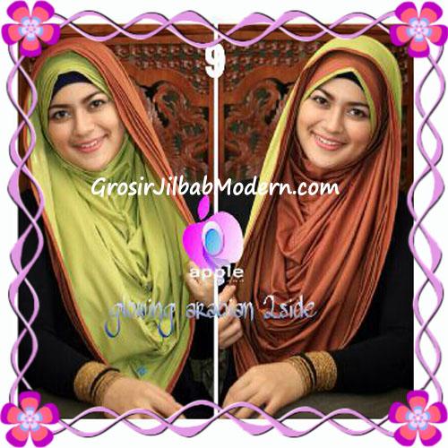 Jilbab Modern Instant Glowing Arabian 2 Side Hoodie by Apple Hijab Brand No 9