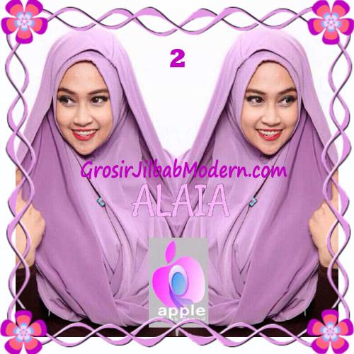 Jilbab  Pashmina Instan Hoodie Alaia Plain by Apple Hijab Brand No 2 Lavender