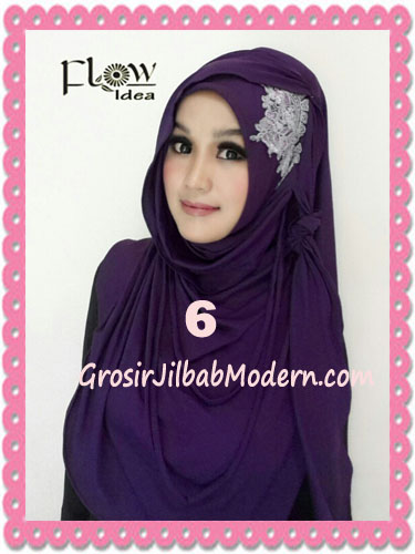 Jilbab Syria Instant Modern Trendy Dealova By Flow Idea No 6 Ungu