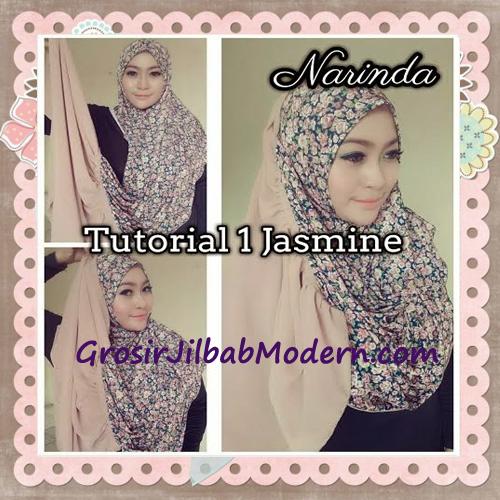 Jilbab Instant Jasmine Pashtan Hoodie Terbaru by Narinda Hijab - Cara Pemakaian Model 1