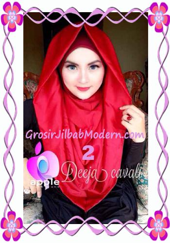 Jilbab Instant Terbaru Deeja Cavali Hoodie Exclusive Original by Apple Hijab Brand No 2 Marun