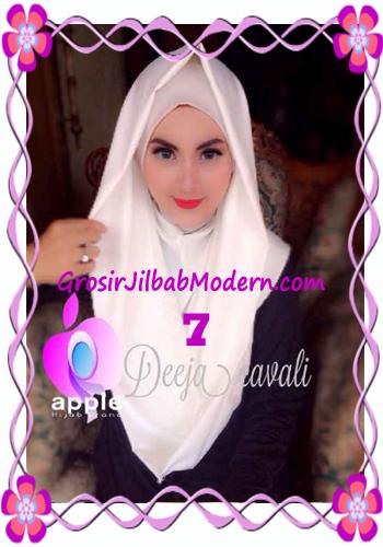 Jilbab Instant Terbaru Deeja Cavali Hoodie Exclusive Original by Apple Hijab Brand No 7 Broken White