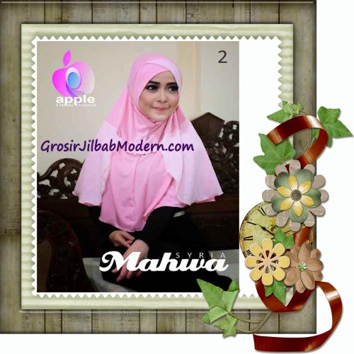 Jilbab Instant Terbaru Syria Mahwa Elegan by Apple Hijab Brand No 2