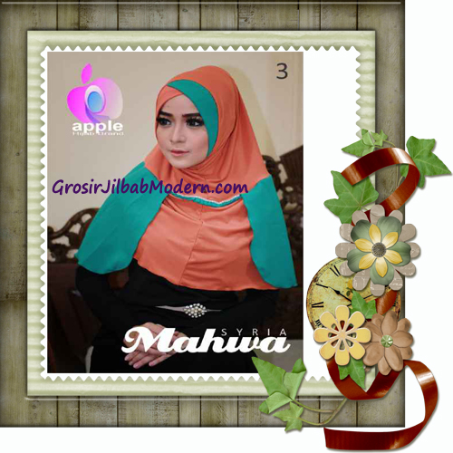 Jilbab Instant Terbaru Syria Mahwa Elegan by Apple Hijab Brand No 3