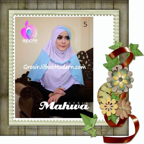 Jilbab Instant Terbaru Syria Mahwa Elegan by Apple Hijab Brand No 5