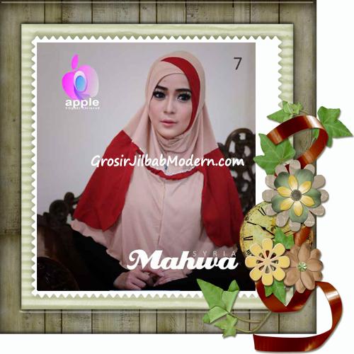 Jilbab Instant Terbaru Syria Mahwa Elegan by Apple Hijab Brand No 7