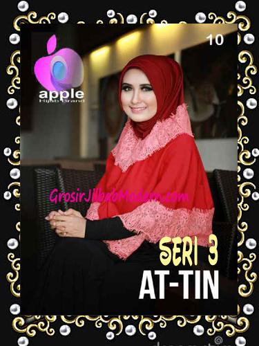 Jilbab Syar'i Exclusive  At Tin Seri 3 by Apple Hijab Brand No 10