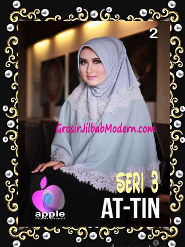 Jilbab Syar'i Exclusive  At Tin  Seri 3 by Apple Hijab Brand No 2