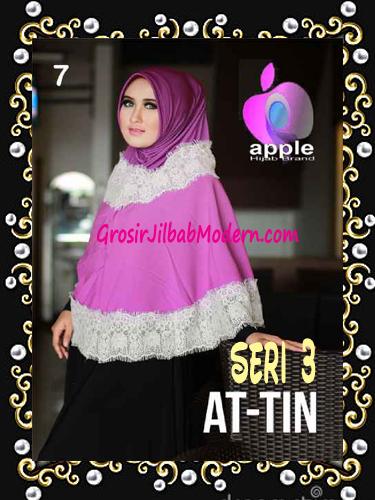 Jilbab Syar'i Exclusive  At Tin  Seri 3 by Apple Hijab Brand No 7