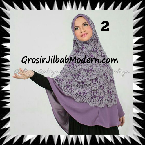 Khimar Exclusive Syar'i Damia Seri 2 Original by Qalisya No 2