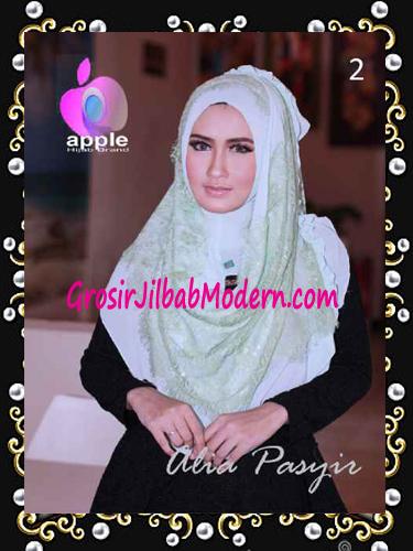 Pashmina Instan Exclusive Terbaru Alia Pasyir By Apple Hijab Brand No 2 Mint