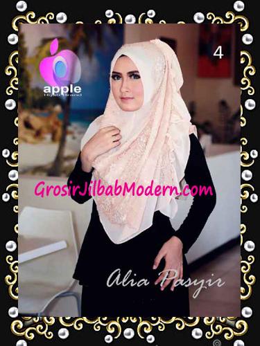 Pashmina Instan Exclusive Terbaru Alia Pasyir By Apple Hijab Brand No 4 Coksu