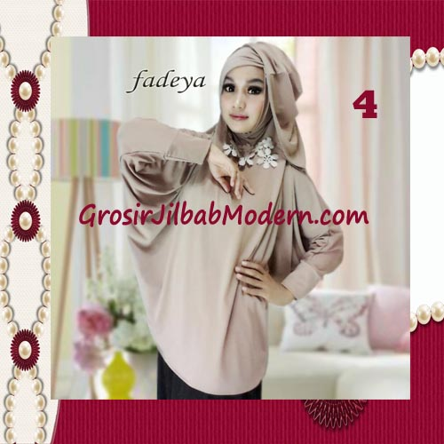 Jilbab Instant Blus Hoodie Cantik Terbaru de Kanaya Original by Fadeya No 4 Coksu