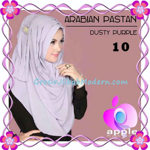 Jilbab Instant Modern Arabian Pastan Original by Apple Hijab Brand No 10 Dusty Purple