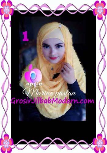 Jilbab Pashmina Instant Marine Modis by Apple Hijab Brand No 1 Kuning