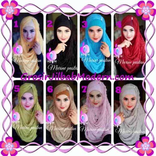 Jilbab Pashmina Instant Marine Modis by Apple Hijab Brand Series