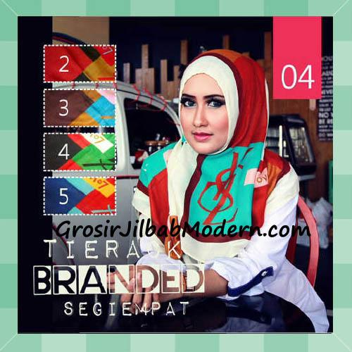 Jilbab Segi Empat Tierack Branded YSL Seri  4