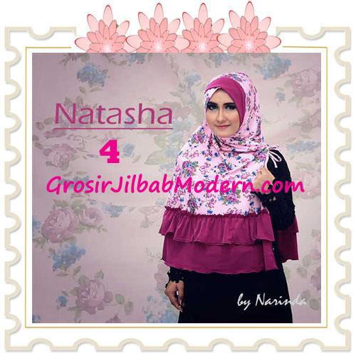 Jilbab Syar'i Natasha Pet Silang  Original by Narinda No 4 Ungu