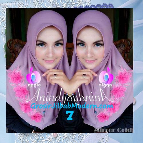 Jilbab Syria Anindya Bunga 3 Dimensi Original By Apple Hijab Brand No 7 Lavender