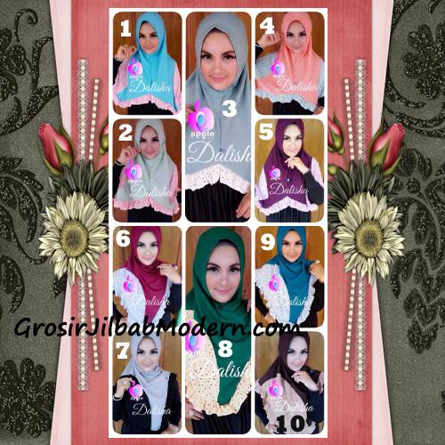 Jilbab Syria Cantik Dalisha by Apple Hijab Brand Series