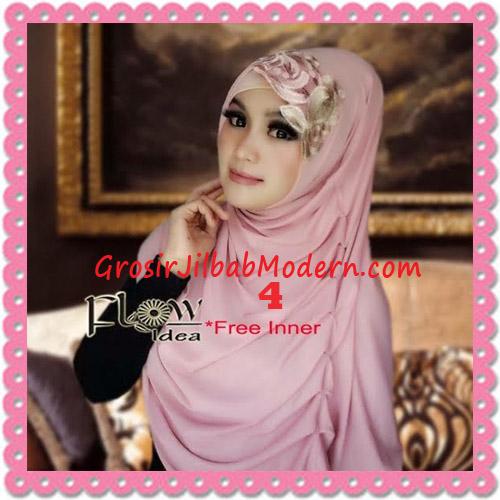 Jilbab Syria Modis Queenova Cantik Original by Flow Idea No 4 Pink Tua