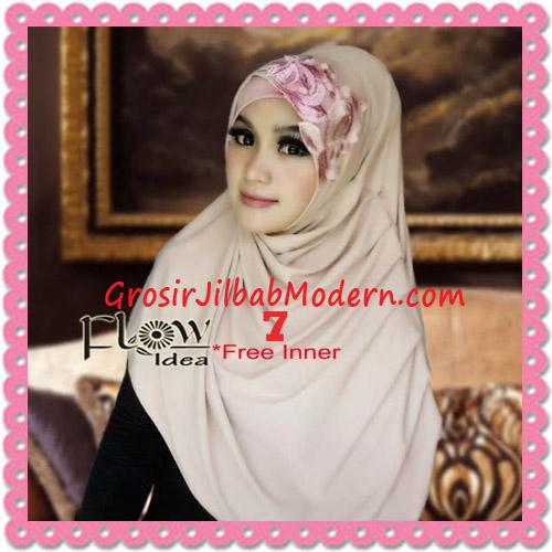 Jilbab Syria Modis Queenova Cantik Original by Flow Idea No 7 Coksu