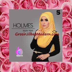 Jilbab Syria Pashmina Instant Modis Terbaru Holmes by Apple Hijab Brand No 5 Goldee