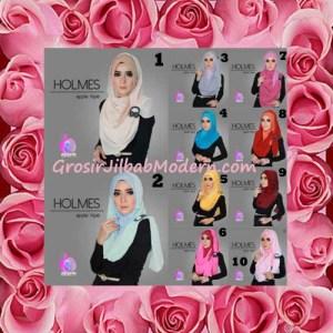Jilbab Syria Pashmina Instant Modis Terbaru Holmes by Apple Hijab Brand Series