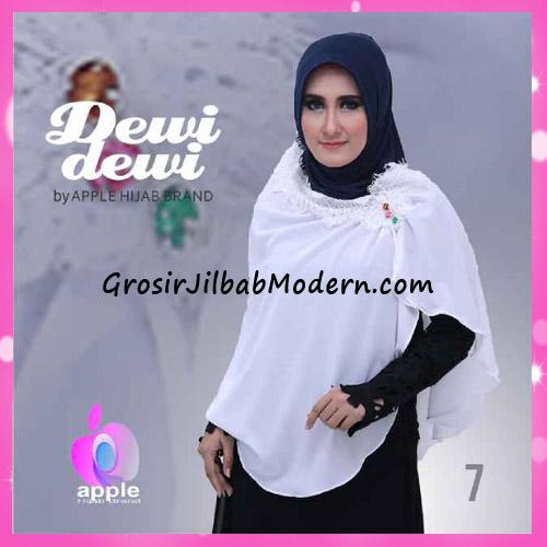 Jilbab Syria Syar'i Dewi Dewi Trendy Original by Apple Hijab Brand No 7