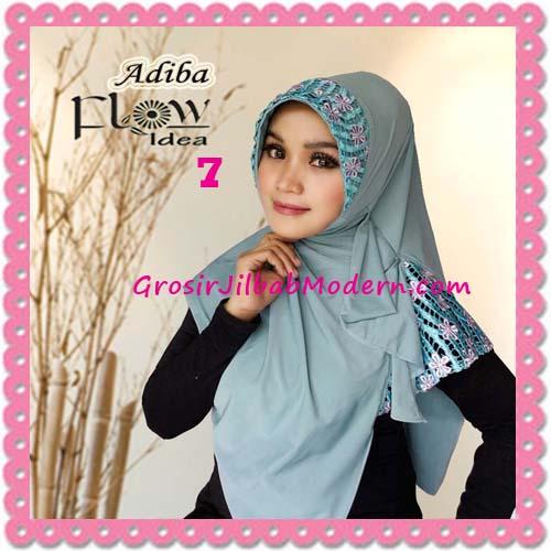 Jilbab Instant Syria Modis Adiba Original by Flow Idea No 7 Hijau
