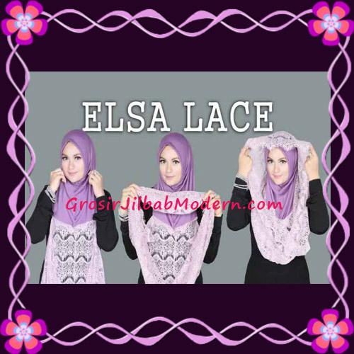 Jilbab Instant Terbaru Elsa Lace Hoodie Premium by Apple Hijab Brand - Cara Pemakaian