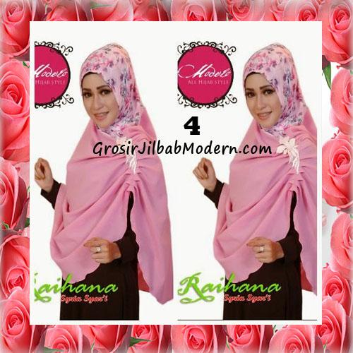 Jilbab Modis Syar'i Raihana Original by Modelo No 4 Pink