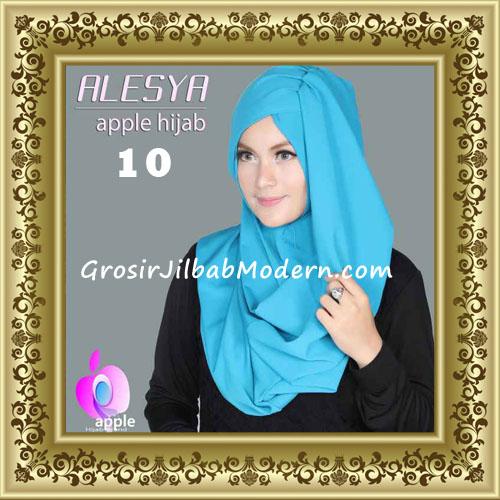 Jilbab Pashmina Instant Alesya Hana Premium by Apple Hijab Brand No 10 Turkish