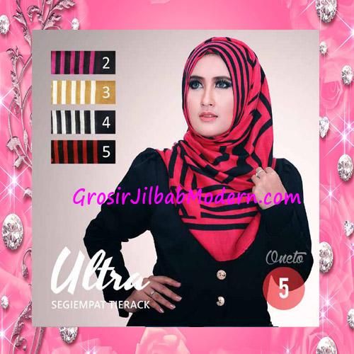 Jilbab Segi Empat Trendy Tierack Ultra Seri 5