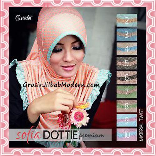 Jilbab Harian Simple Modis Sofia Dottie Premium