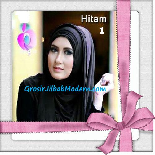 Jilbab Hoodie Instan Arabian Seri 2 by Apple Hijab Brand No 1 Hitam