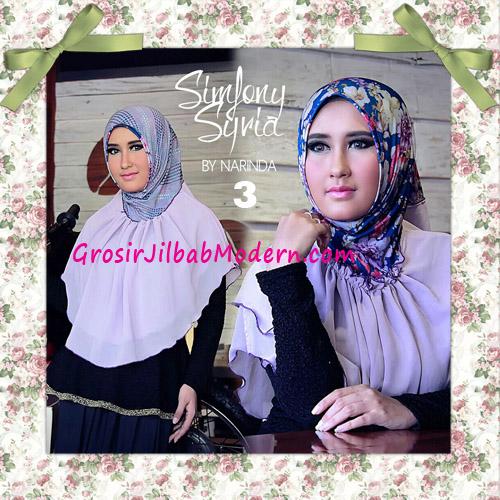 Jilbab Instant Cantik Simfony Syria Bolak Balik Original By Narinda No 3 Ungu