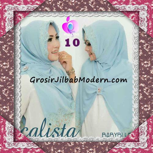 Jilbab Instant Modis Arzeti Calista Premium Original By Apple Hijab Brand No 10 Baby Blue