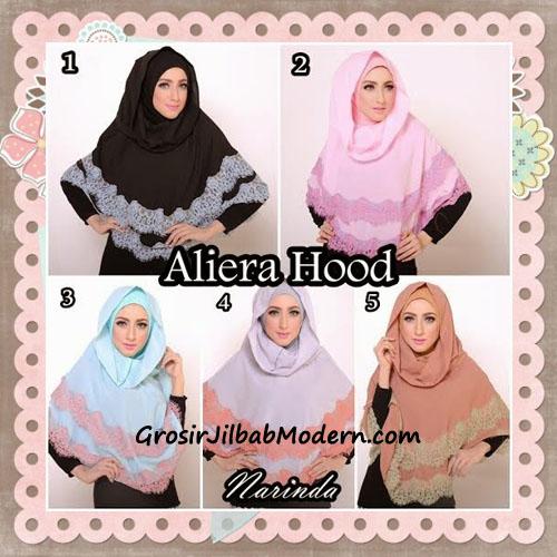 Jilbab Instant Modis Cantik Aliera Hoodie by Narinda Series