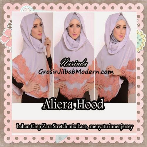 Jilbab Instant Modis Cantik Aliera Hoodie by Narinda
