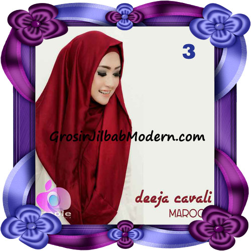 Jilbab Instant Modis Terbaru Deeja Cavali Hoodie Seri 2 Exclusive Original by Apple Hijab Brand No 3 Maroon