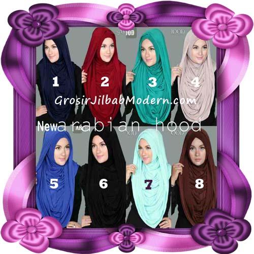 Jilbab Instant New Arabian Hoodie Simple dan Elegan By Apple Hijab Brand Series