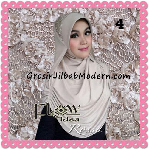 Jilbab Modern Syria Rossa Cantik Original By Flow Idea No 4 Mocca