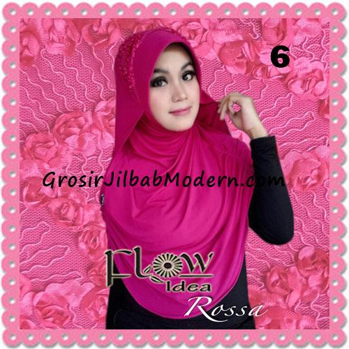 Jilbab Modern Syria Rossa Cantik Original By Flow Idea No 6 Fanta
