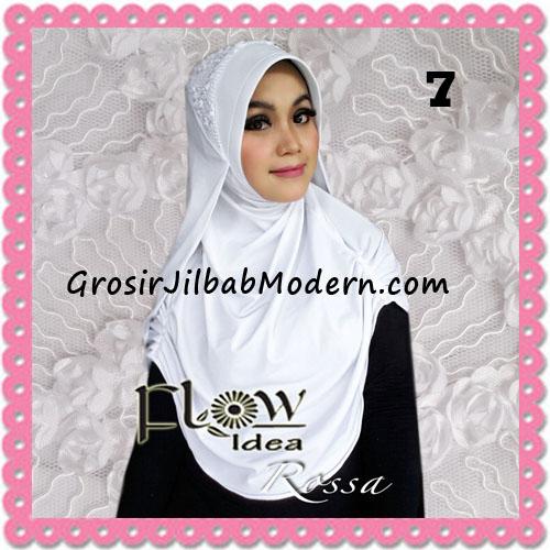 Jilbab Modern Syria Rossa Cantik Original By Flow Idea No 7 Putih