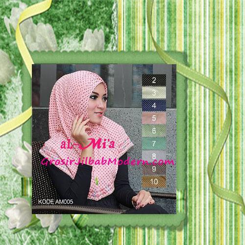 Jilbab Syria Polka Modis Almia Seri 5